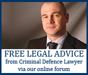 FREE legal advice from Criminal Defence Lawyer