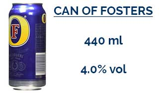 Can of Fosters